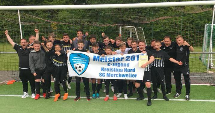 """""""Ehrenmänner"""" der U15 sind Meister !"""