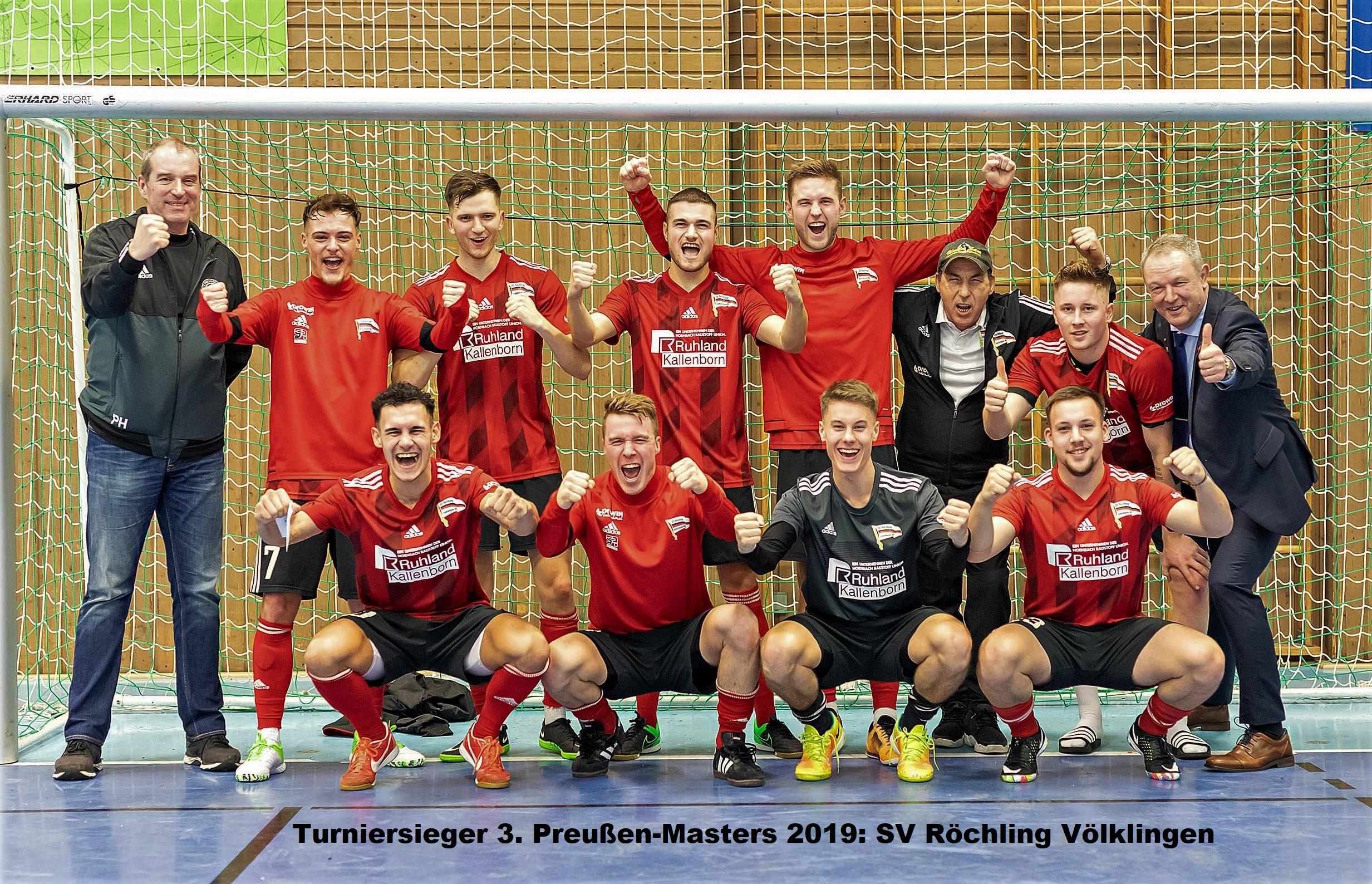 Turniersieg geht an den SV Röchling
