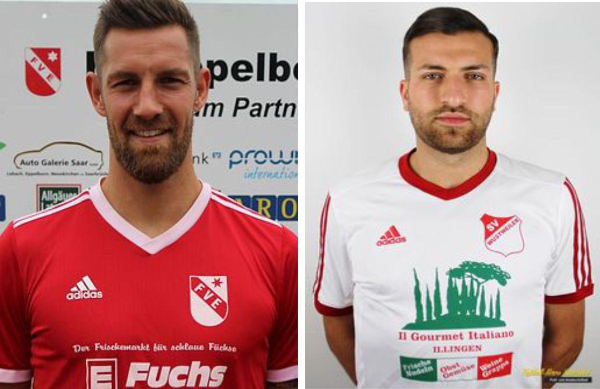 Lucas Becker und Alexandro Gallace verstärken Merchweilers Defensive