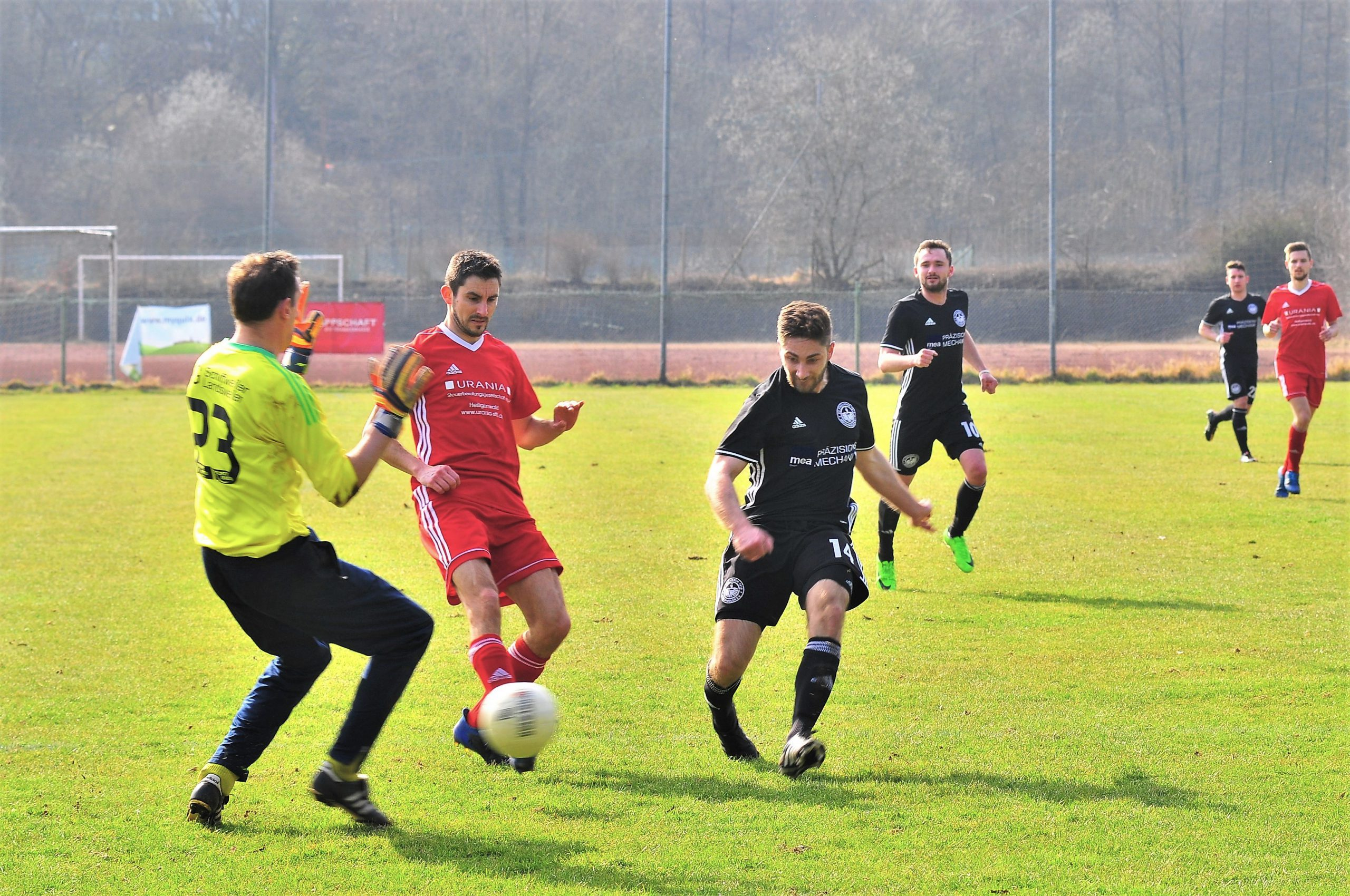 Stefan Mai zurück – 0:4 Auswärtssieg in Schiffweiler