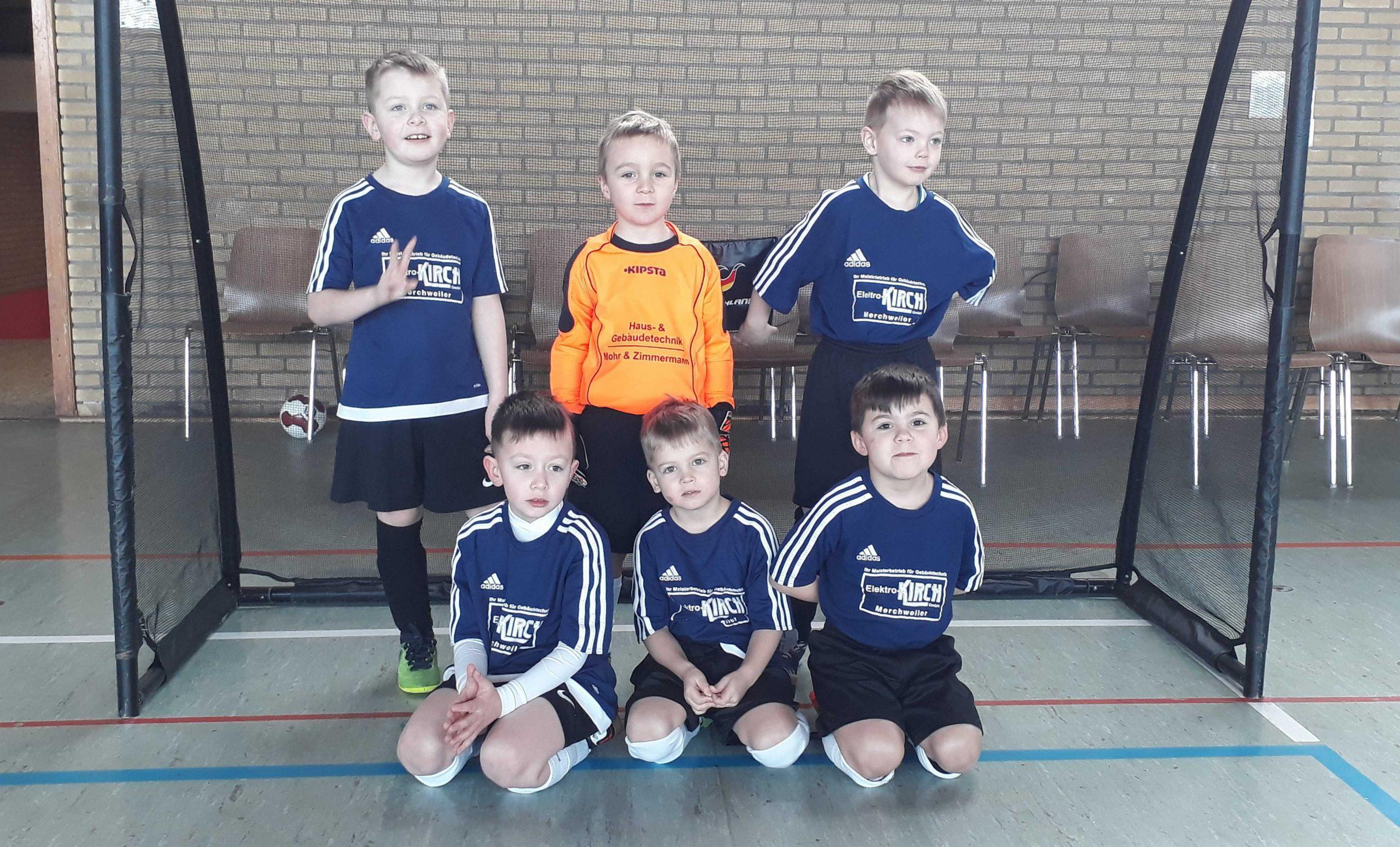 SG – G Jugend Merchweiler auf eigenem Turnier mit 3 Mannschaften vertreten