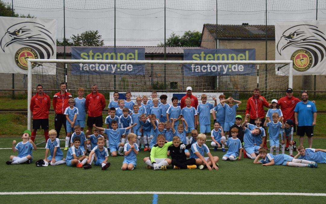 Fußballcamp ein toller Erfolg!