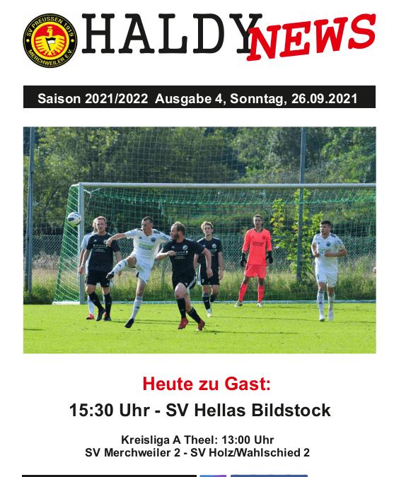 Haldy News 2021 Ausgabe 4