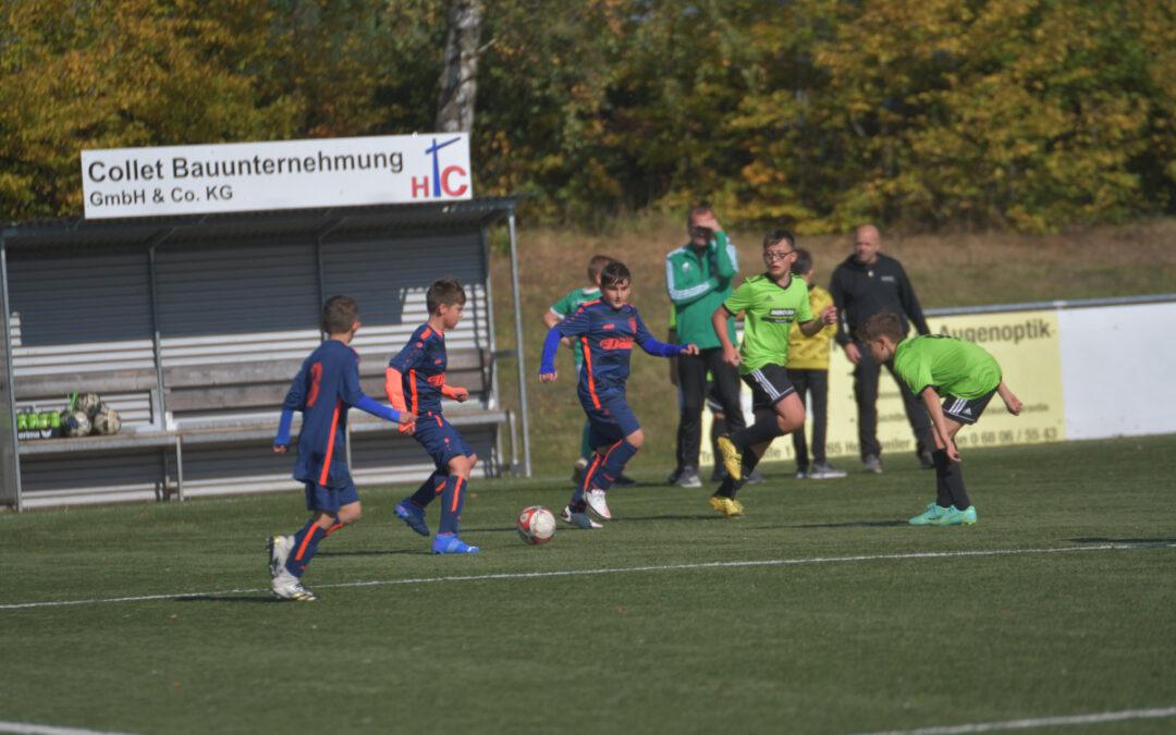 D-Jugend: Verdienter Sieg gegen Tabellenführer