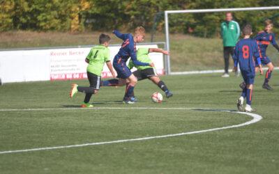 D-Jugend: Pokalerfolg in Aschbach – Punkte in Heusweiler